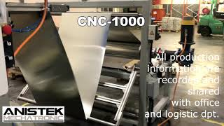 CNC-1000 Servopress Alufoil and paper trays production plant
