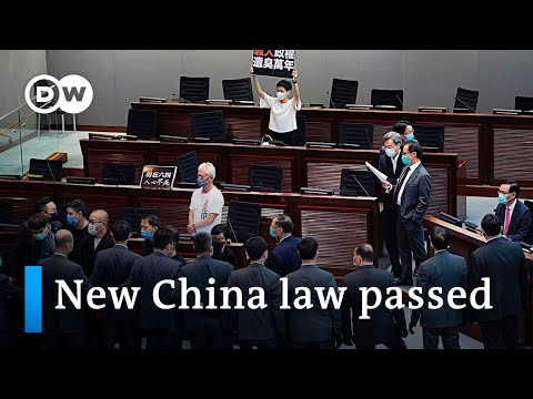 Hong Kong makes mocking China's national anthem a crime | DW News