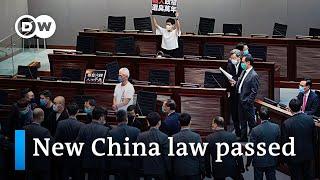 Hong Kong Makes Mocking China's National Anthem A Crime | Dw News