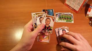 "BOX OPENING 8/10 { } Открытие 5-и пачек ""FIFA 365"" (2018) Panini"