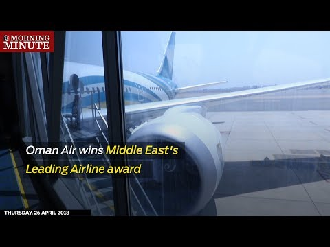 Oman Air wins Middle East's Leading Airline award