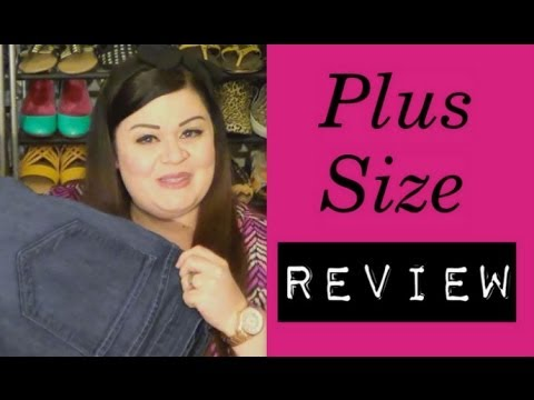 Plus Size Review: NYDJ Jeans - YouTube