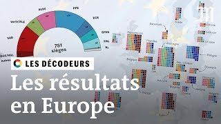 Elections européennes : qui siégera au Parlement ?