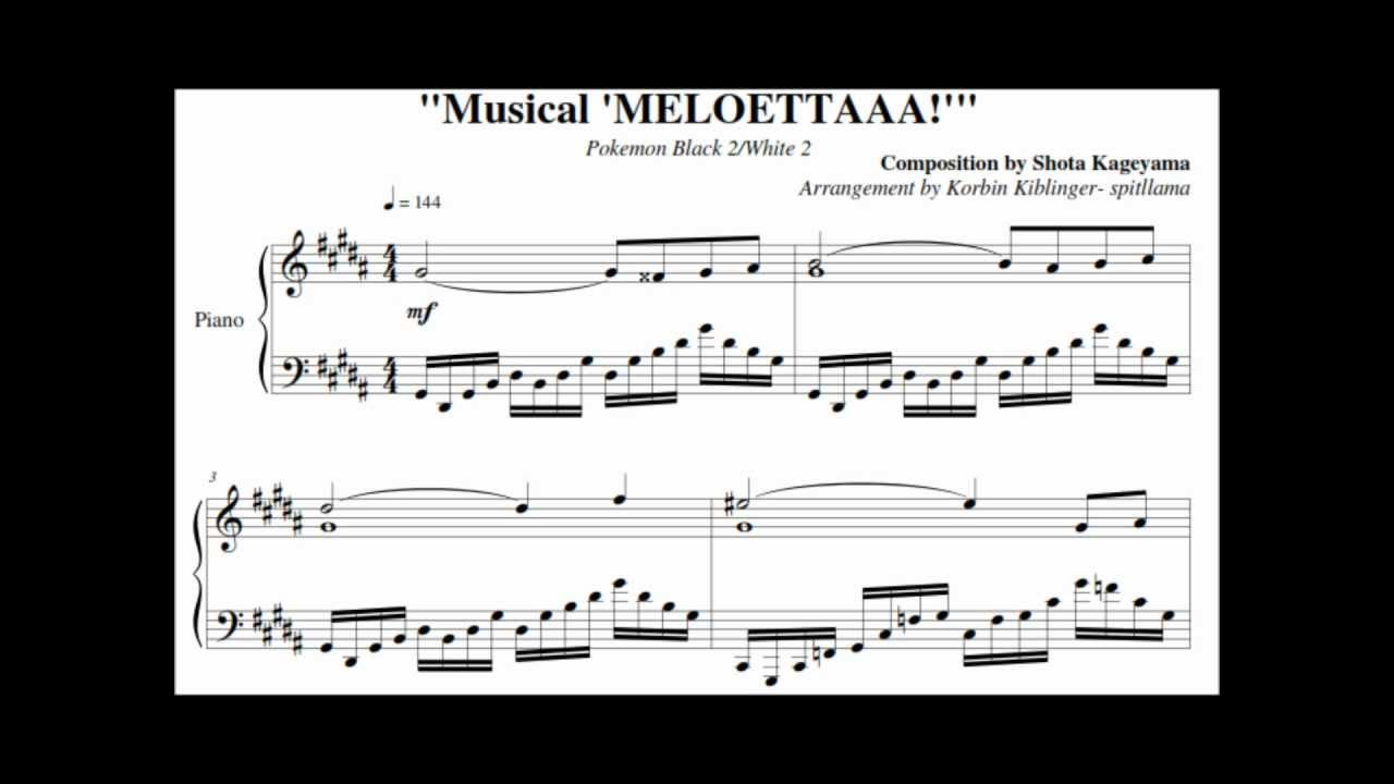 how to play pokemon music on piano