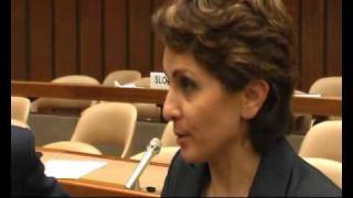 Interview with Fakhteh Zamani, Iranian Azerbaijani minority rights activist, UN, Geneva 16-12-2008