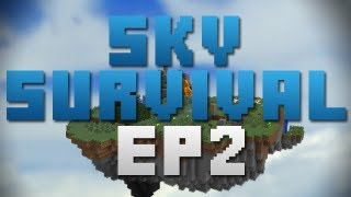 Minecraft Map Playthroughs - Sky Island Survival [Ep2] - C