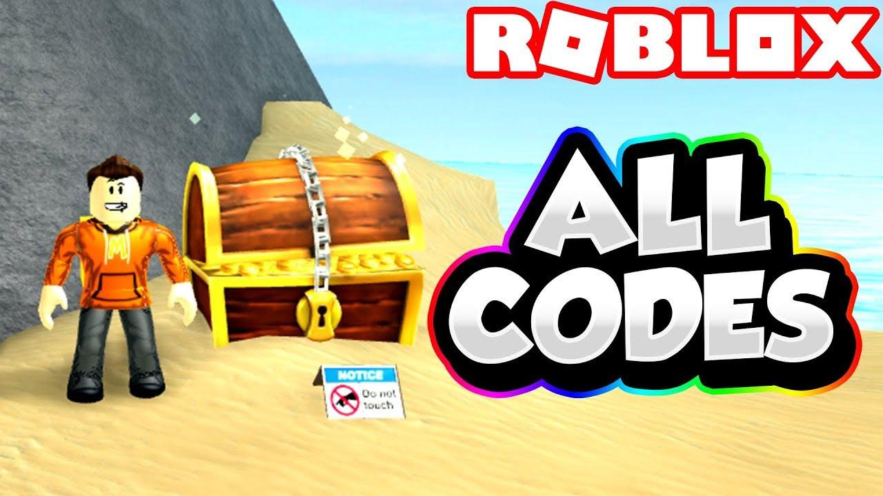 Every Code In Treasure Hunt Simulator 2018 Free Codes Youtube