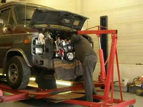 1985 chevy van engine