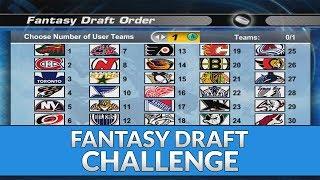 NHL 06 FANTASY DRAFT CHALLENGE!! (Dynasty Mode)