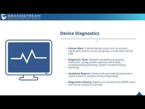 Grandstream Device Management System Preview