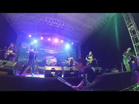 Saxxyogya - Happy @Biophoria #8 (front stage cam) at Rooftop Lippo Plaza Jogja