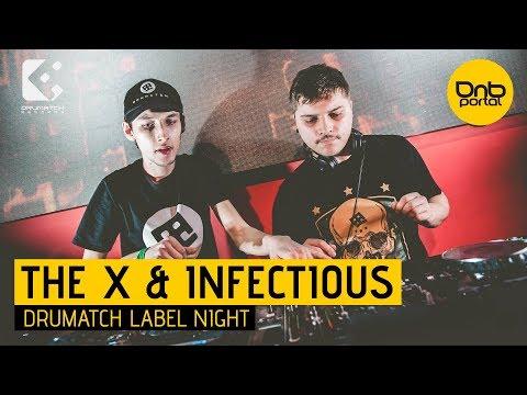 The X & Infectious - Drumatch Label Night 2 [DnBPortal.com]
