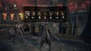 Bloodborne: How to befriend Djura (gatling gun guy) AFTER he shoots at you in Old Yharnam