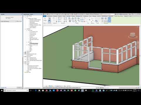 Revit How to Draw a Conservatory