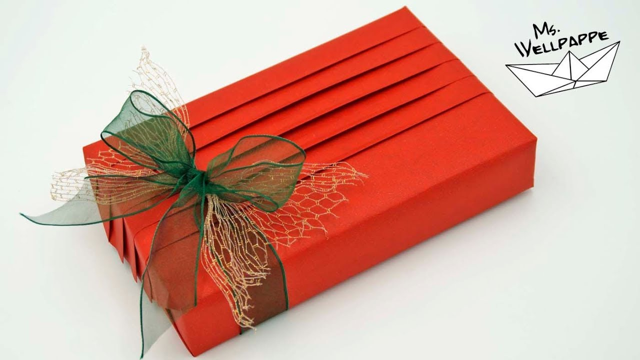 Geschenk Packen Gift Wrapping Ideas