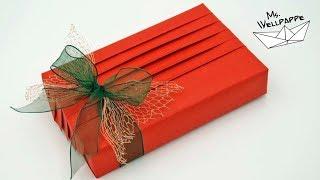 Geschenke verpacken - einfache Anleitung