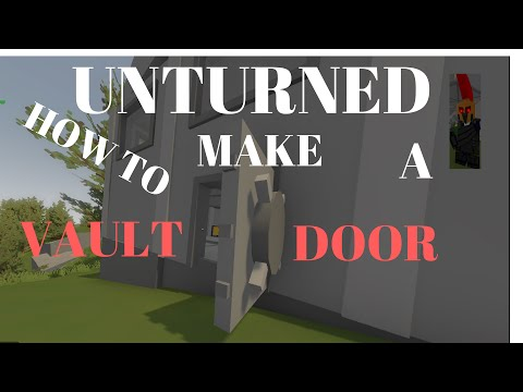 Unturned how to make pillars doovi for Door unturned
