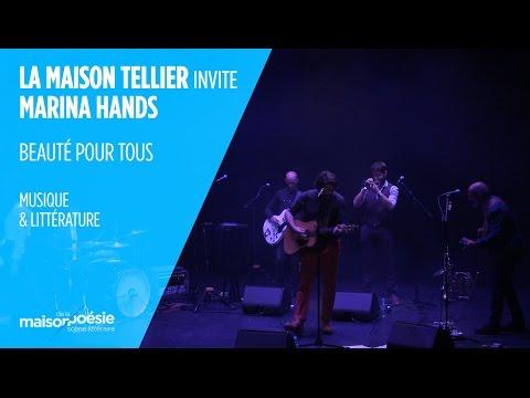« UN BON FRANÇAIS »  LA MAISON TELLIER INVITE MARINA HANDS  EXTRAIT