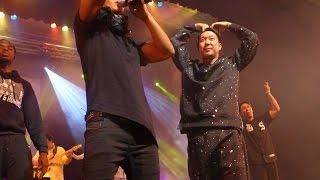 Kim Jong Kook and HaHa.