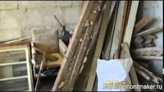 видео Вывоз старых окон, балконных блоков из квартир в Москве