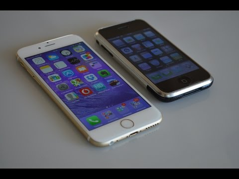 iPhone 2G edge versus iPhone 6: la sfida di HDblog.it