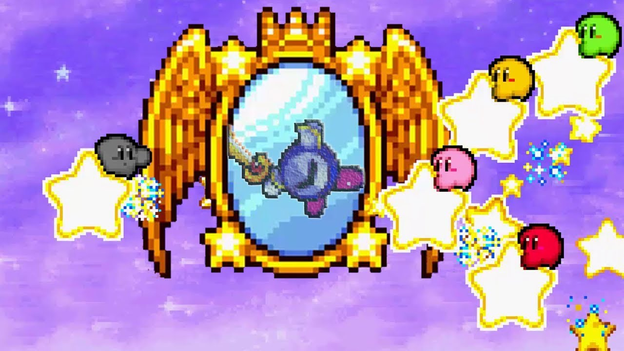 Kirby & The Amazing Mirror - Full Game - No Damage 100% Walkthrough