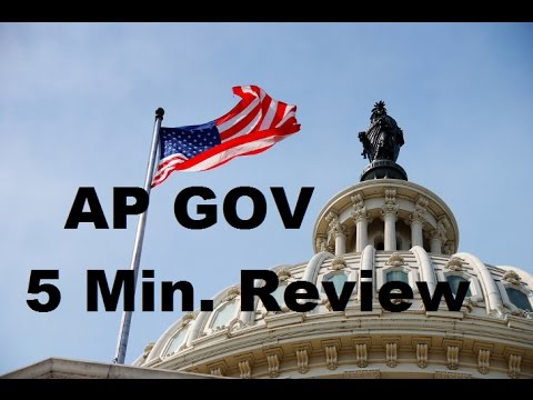 AP Gov 5 Minute Review: Elections and Campaign Finance