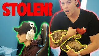 SNEAKING INTO THE CREW HOUSE & STEALING DUDE THE CAT!!