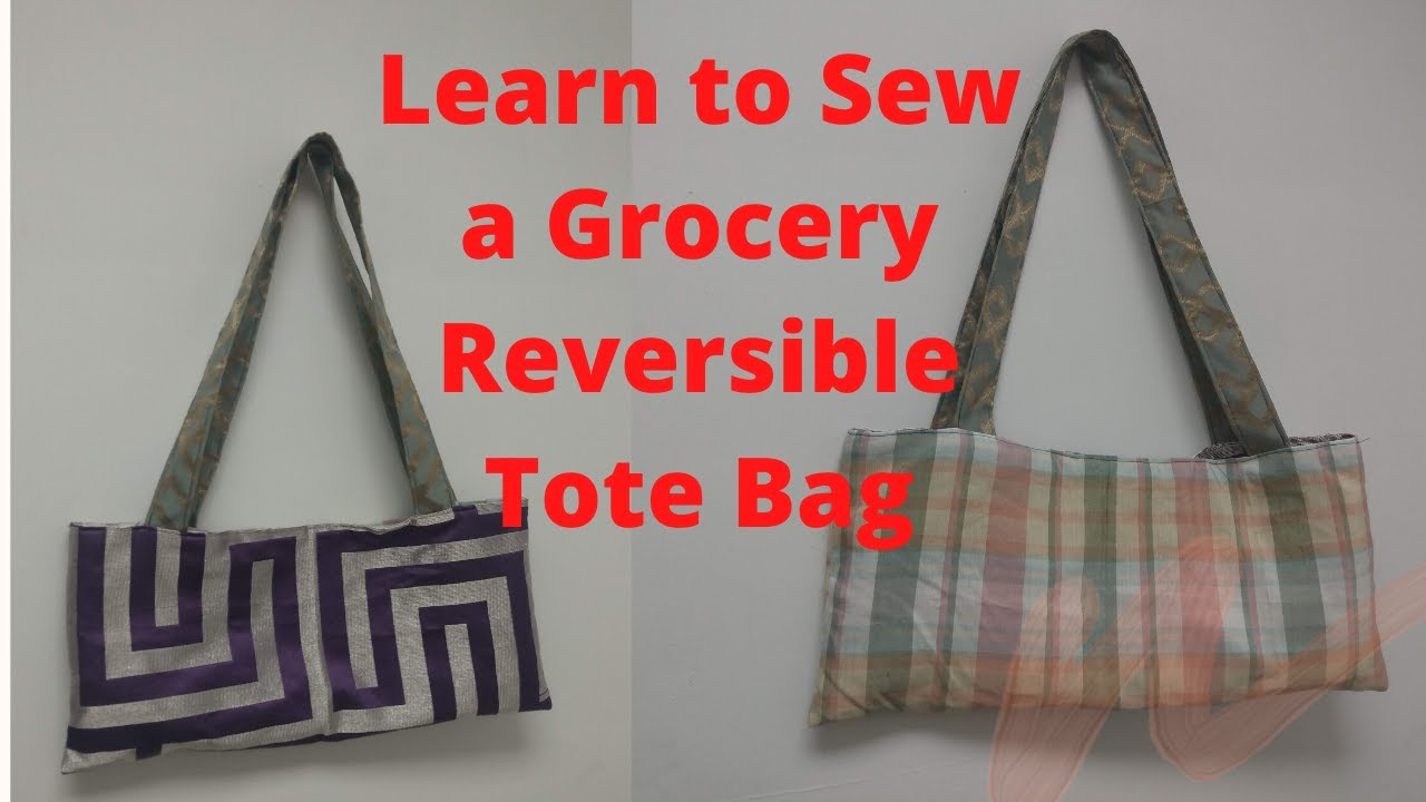 HOW TO SEW A TOTE BAG: VERY EASY