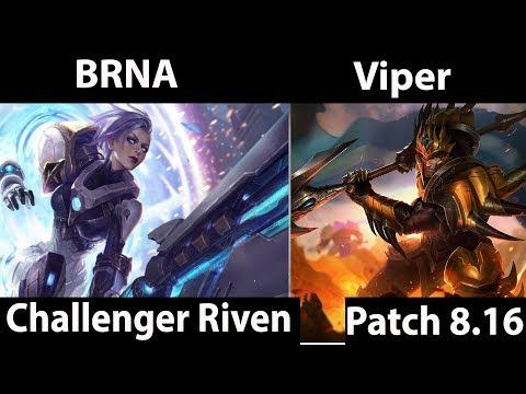 [ BRNA ] Riven vs Jarvan IV [ Viper ] Top - BRNA Riven Gameplay
