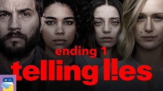 Telling Lies: Ending 1 & iOS / Steam Gameplay (by Sam Barlow / Annapurna Interactive)