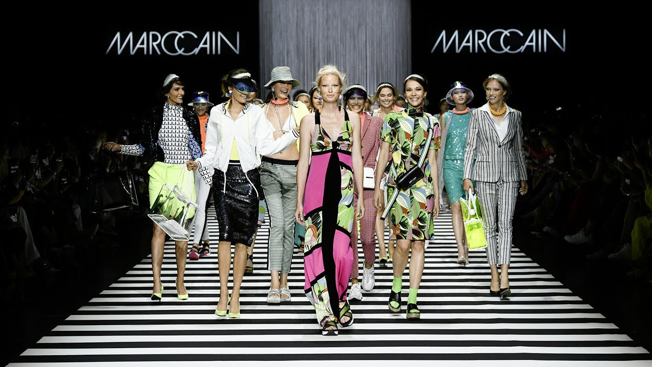 Spring 2020 Fashion Week.Marc Cain Fashion Show Spring Summer 2020 Fashion Week Berlin