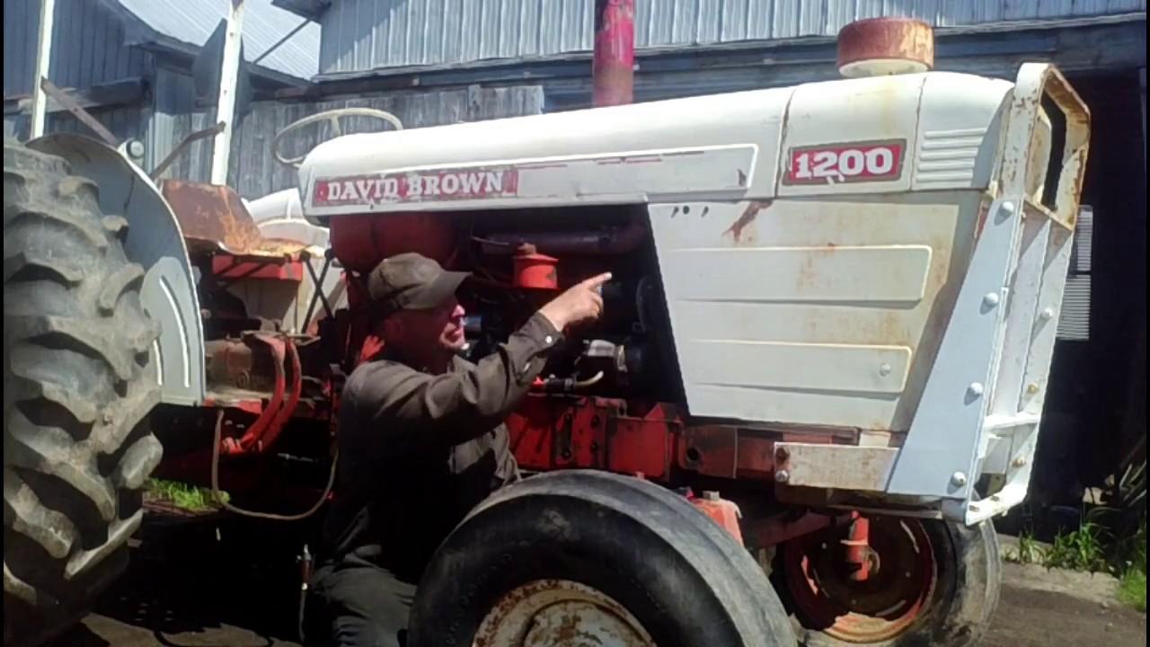 1200 david brown, diagnosing and repairing engine trouble