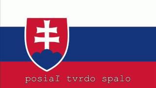 National Anthem of Slovakia Instrumental with lyrics