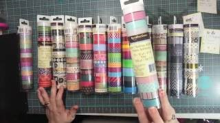 Massive Michaels washi haul 60% off Recollections 9/12/16