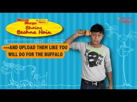 RJ Naved in 'Murga and Bhains Bechni Hai'
