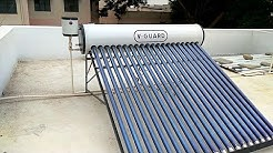 V-GUARD Solar Water Heater, Evacuated Tube Type