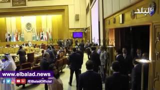 بالفيديو.. بدء الاجتماع الطارئ لمجلس الجامعة العربية لبحث ترتيبات القمة