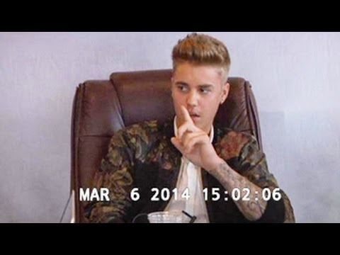 Justin Bieber Deposition Tape - Refuses to Talk About Selena Gomez
