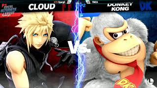 WNF 4.10 - XTR | Sparg0 (Cloud) vs YMCA (Donkey Kong) Pools - Smash Ultimate