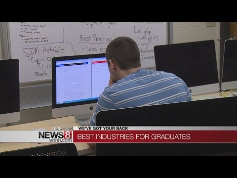 Best and worst jobs for recent college graduates