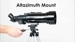 Φορητό τηλεσκόπιο TravelScope 70 της Celestron