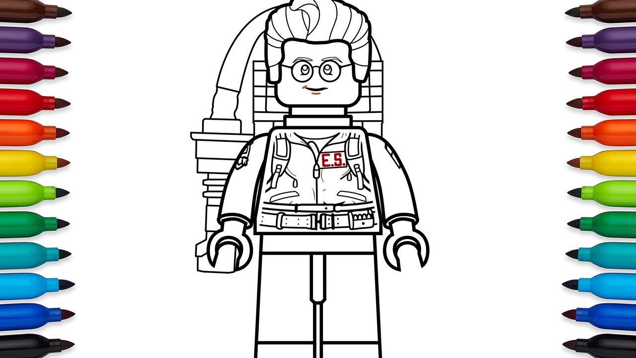 Ghostbusters #4 (Movies) – Printable coloring pages | 720x1280