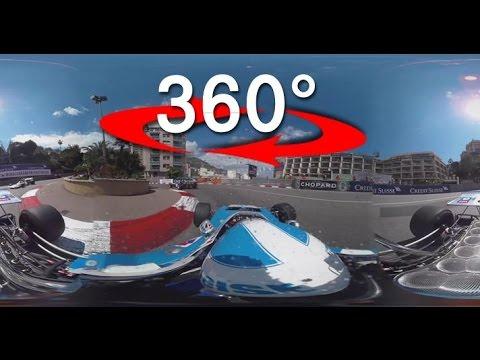 Grand Prix de Monaco Historique: Le tour du circuit en 360° avec Anthony Beltoise !