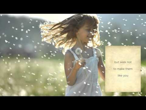Damien Rice - On Children (from Kahlil Gibran's The Prophet)
