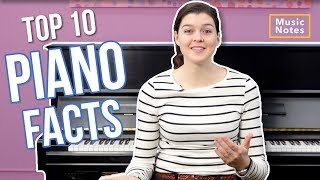 10 Things you should know about Piano - Music Notes - Hoffman Academy