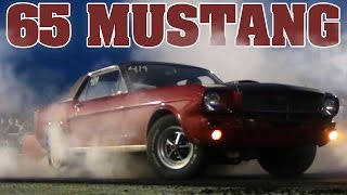 1965 Ford Mustang burnout contest, Edgewater 2012