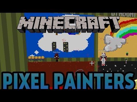 Minecraft | HUR RITAR MAN EN DRÖM? | Pixel Painters Minigame på Svenska