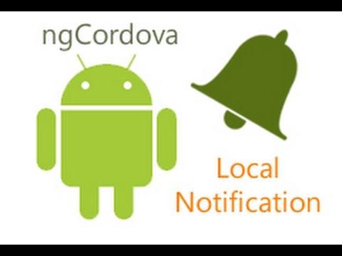 ngCordova Local Notification Tutorial