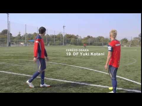 Japanese J-League stars perform incredible twin kick trick shot